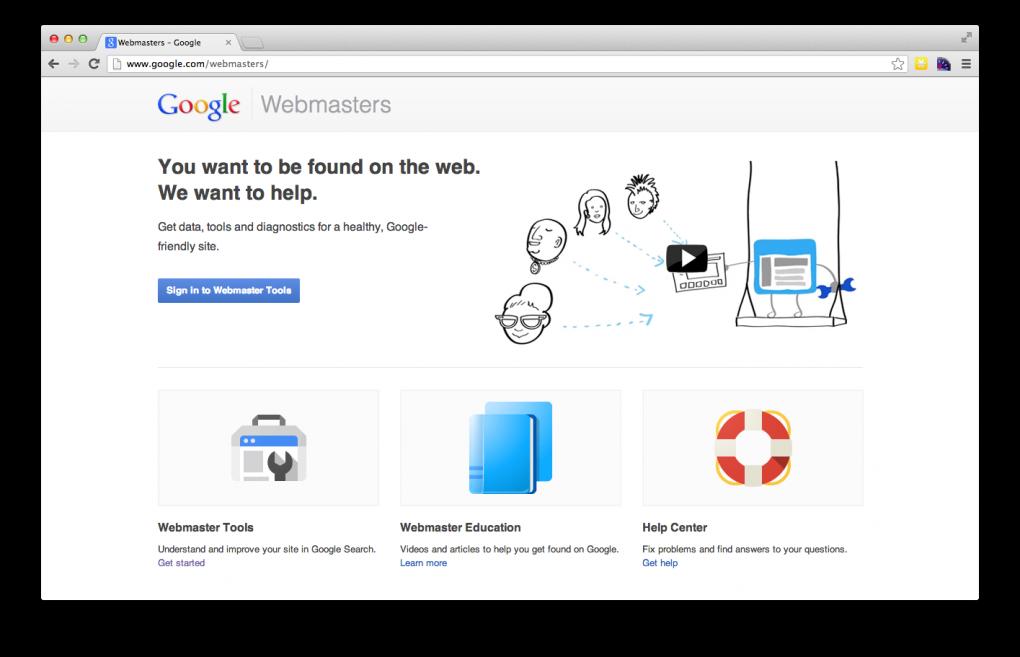 descartar blankling en search console