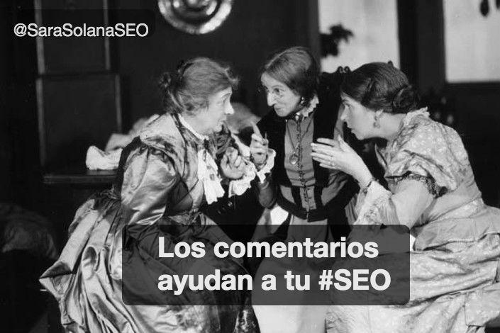 COMENTARIOS SEO - SARA SOLANA PASCUAL