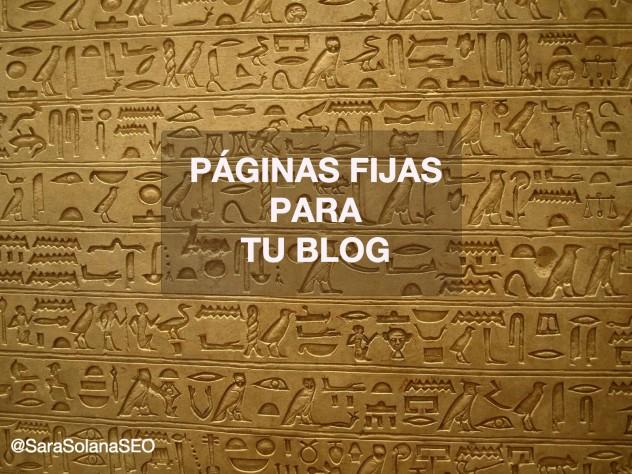paginas fijas blog sara solana pascual