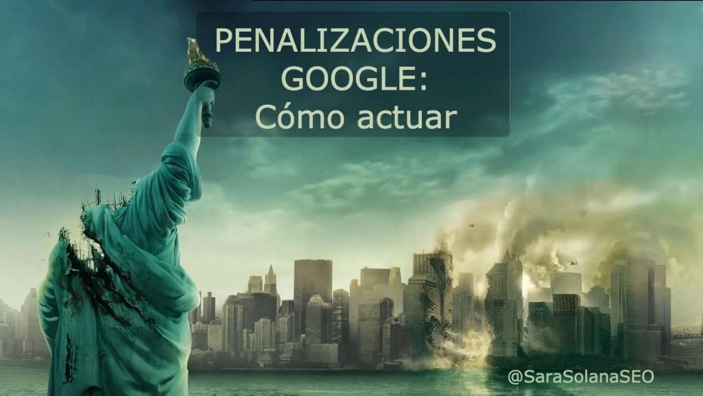 penalizaciones google. sara solana pascual