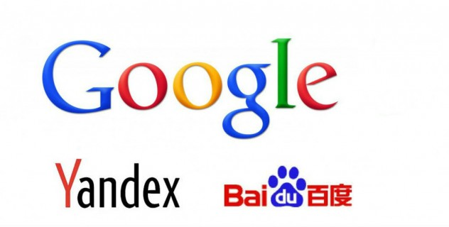 posicionamiento web google yandex baidu