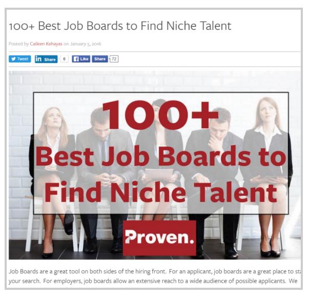 las 100 mejores bolsas de trabajo